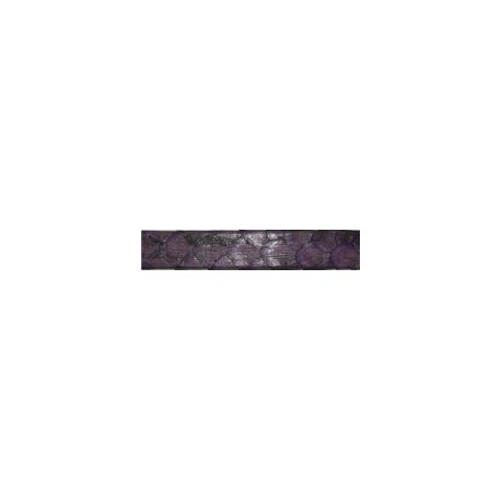 Tireta Piel Pyton 10 mm. LILA OSCURO. Ref 22073