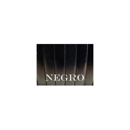 Tireta Plana Piel  ESPECIAL 6 mm. NEGRO. Ref 22103