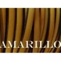 Tireta Plana Piel  ESPECIAL 6 mm. AMARILLO. Ref 22104