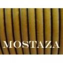 Tireta Plana Piel  ESPECIAL 6 mm. MOSTAZA. Ref 22106