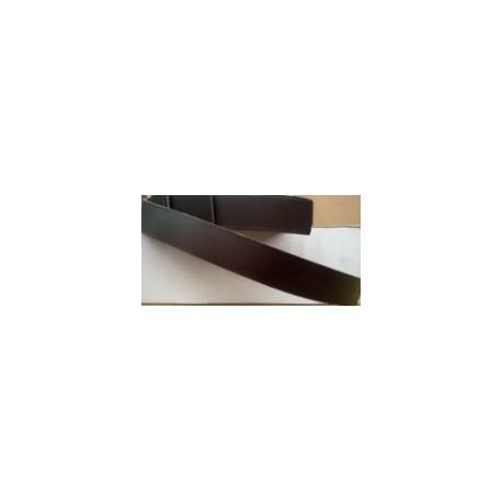 Tira Vaquetilla 1,5 cm Marrón Oscuro Ref 24454