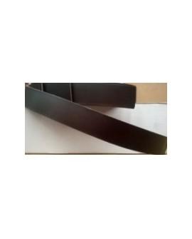 Tira Vaquetilla 2,5 cm Marrón Oscuro Ref 24461