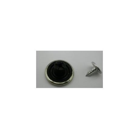 Botón Vaquero Tejano Plástico Pequeño 14MM. Ref 7403