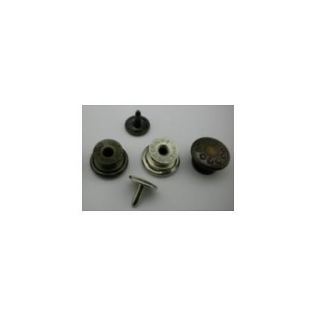 Botón Vaquero Tejano Movible Pequeño 14MM. Ref 7405