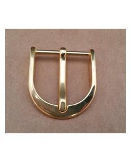 Hebilla Cinturón 30 mm. Dorado