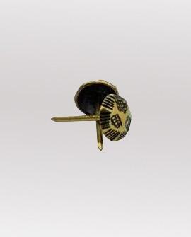 Chincheta Tapicería 19 mmde largo cabeza 10mm 100 Unidades. Ref 4