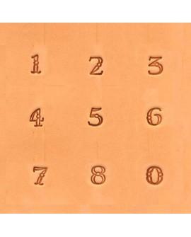 "Números 3/8"" Pulgada (1 cm.) 4908-00"