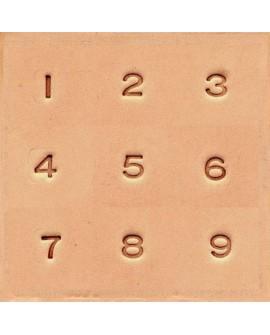 """Números 4904 1/4"""" Pulgadas (0,6 cm.)"""