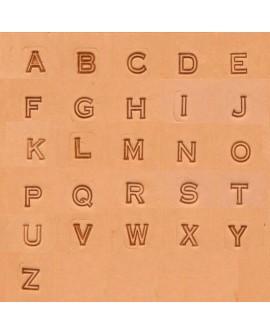 Alfabeto 4909 1/4 Pulgada (0,6 cm.)