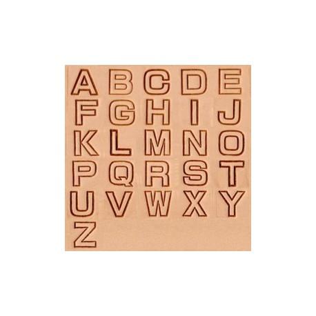 Alfabeto 8141-00 3/4 Pulgada (1,91 cm.)
