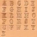 """Alfabeto 8140 1/2"""" Pulgada (1,3 cm.)"""