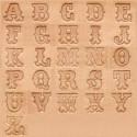 """Alfabeto 8145 3/4"""" Pulgada (1,91 cm.)"""