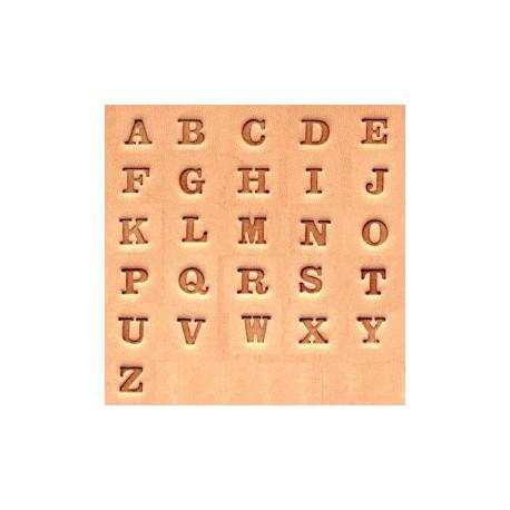 """Alfabeto 4903 1/4"""" Pulgada (0,6 cm)"""