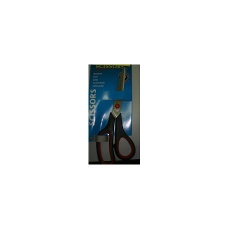 Tijera Cuero 80 x 210 mm. Mango Plástico Negro