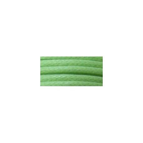 Mts. Cordón Simil Cuero 2,5mm 325-VERDE CLARO