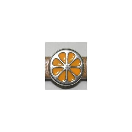Adorno Ovalado 10x6 Naranja 8313 PF