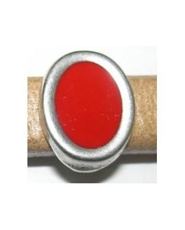 Adorno Ovalado 10x6 Rojo 8006 PF