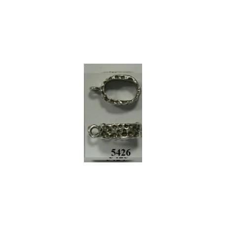 Adorno Pulsera Ovalado 10x6+anilla. F428