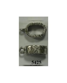 Adorno Pulsera Ovalado 10x6+anilla. F427