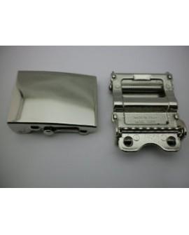 Hebilla para Cinturón de algodón de 40 mm.