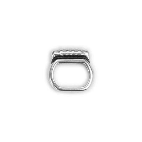 Adorno Ovalado Regaliz 10x7 8095