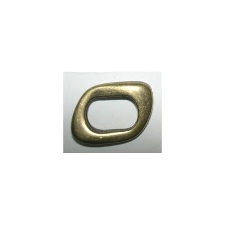 Adorno Ovalado Regaliz 10x7 8097 Oro Viejo