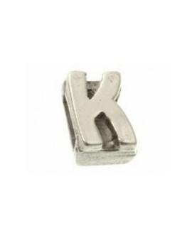 """Letra """"K"""" 8X2mm Tamaño 12x10mm"""