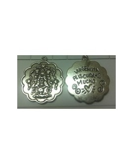Medallita Mejicana 6538. Cuídame mucho plis