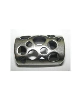 Adorno Ovalado 10x6 Calado Círculos 8334 23mm PF
