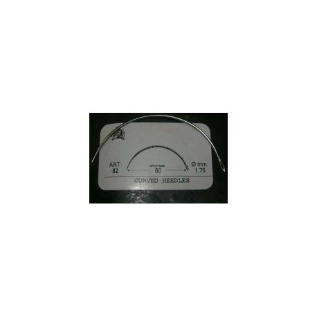 Aguja Curva 45-50-55-60-65-70. Ref 8351