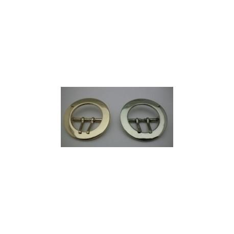 Hebilla Cinturón de 2 pinchos de 35 mm.