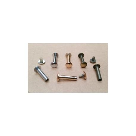 Remache Encuadernación Cabeza 8 mm Largo 20 mm. Ref 8607