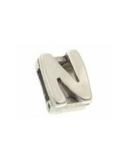 """Letra """"N"""" 8X2mm Tamaño 12x10mm"""