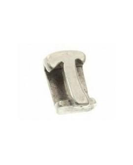 """Letra """"T"""" 8X2mm Tamaño 12x10mm"""