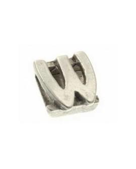 "Letra ""W"" 8X2mm Tamaño 12x10mm"