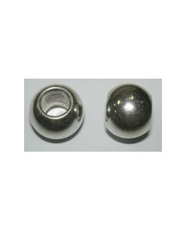 Bola Metal 6mm x 4mm Taladro 2.5mm