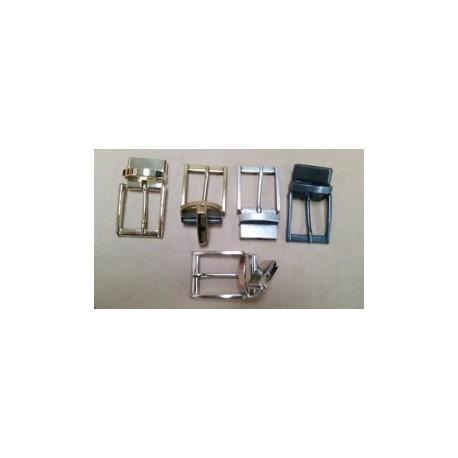 Hebilla para Cinturón Reversible 3 cm. Varios colores.