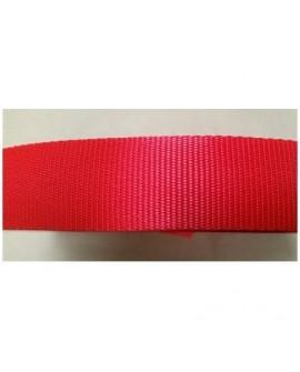 Tira nylon 30mm. Rojo