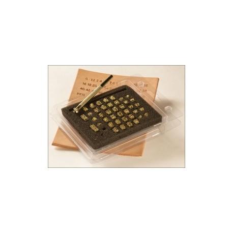 """Juego de Estampadores. Medidas 8166 3/16"""" (5mm)"""