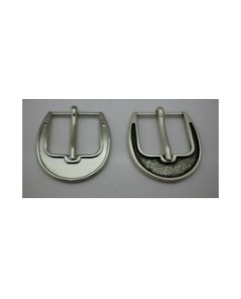 Hebilla de Cinturón de 25 mm. Redonda. Ref 8884