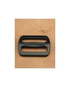 Hebilla Corredera Plástico NEGRO  30 mm. Ref 7572