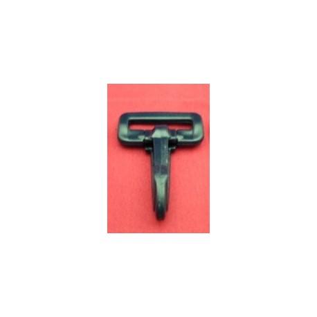 Mosquetón Plástico NEGRO 40 mm. Ref 7579