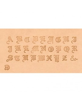 ALFABETO LETRA OLD ENGLISH 8142-10  3/4 PULGADA (1.9CM)