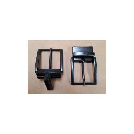Hebilla para Cinturón Reversible 3,5 Pavonado