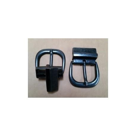 Hebilla para Cinturón Reversible 4 cm. Pavonado