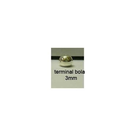 Terminal Bola 3 mm. Ref 5472
