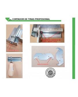 CORTADOR DE TIRAS PROFESIONAL PARA 10cm MÁXIMO