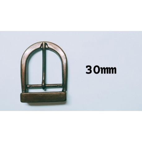 HEBILLA 30 mm  (oro viejo)