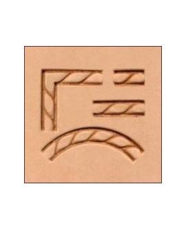 Set 4 Estampadores Cuerda 69016-00. Ref 9741
