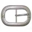 Hebilla Cinturón de 40 mm Níquel. Ref 9838